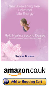 UK and Europe New Awakening Reiki Second Degree Book by Robert Bourne Reiki Master Teacher