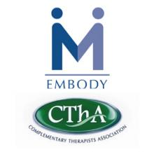 Courses approved by Embody the Complimentary Therapist Association