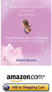 America and Canada New Awakening Reiki Second Degree Book by Robert Bourne, Reiki Master Teacher