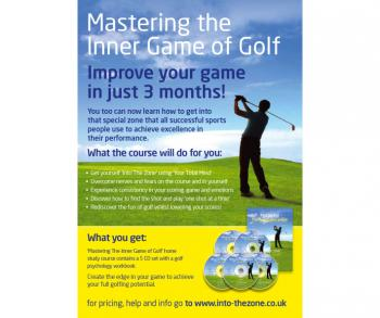 Golf Psychology Coaching Program by Robert Bourne