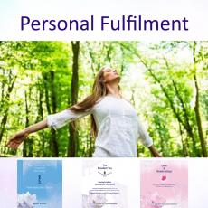 Personal fulfilment contains 3 courses within the New Awakening Process