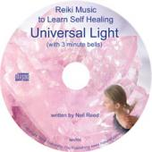 Reiki Music CD Universal Light by Rober Bourne Reiki Master Teacher
