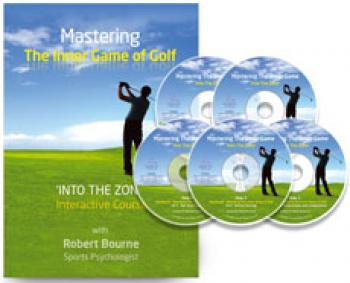 Mastering the Inner Game of Gold book and 5 CD set. Golf Psychology coaching program